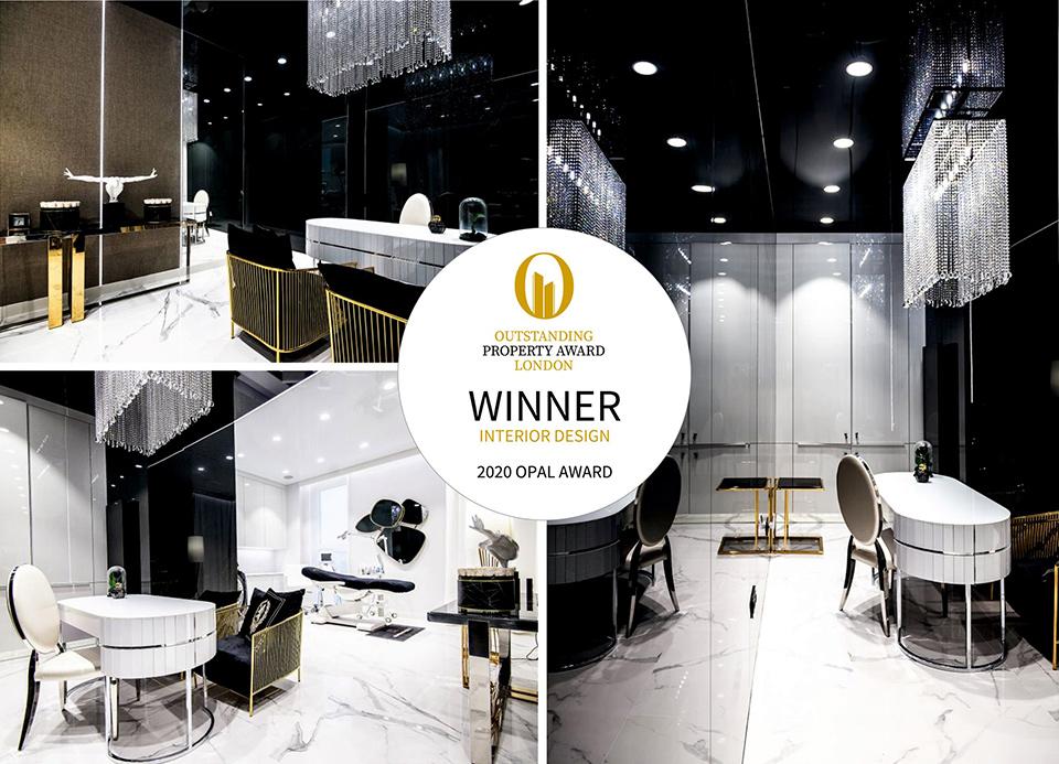 OPAL - Outstanding Property Award London - Klinika Dermalogica